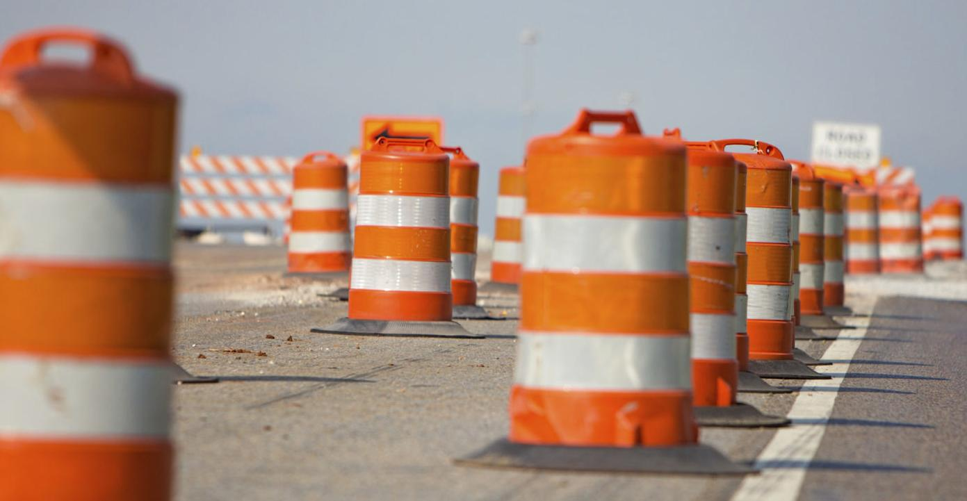 Paving set for I–95 in Stafford