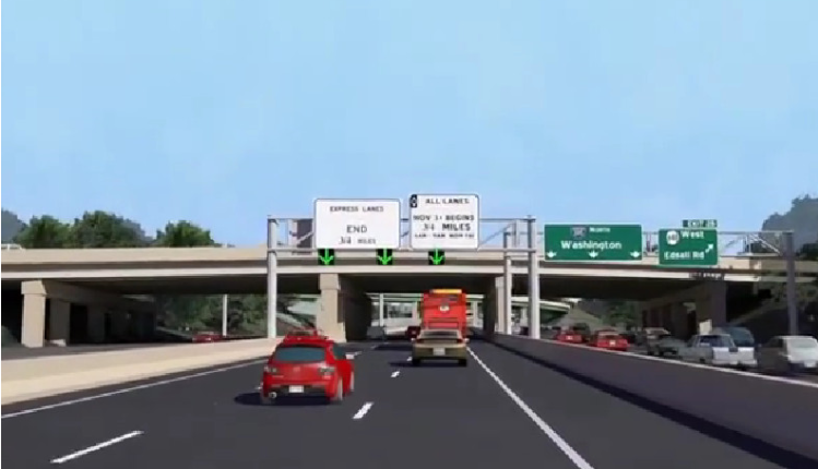 I-95 Express Lanes extension opened